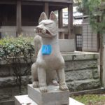 Wächter im Himeji Shrine
