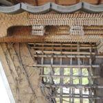 Anschauliches Beispiel für die japanische Burgbautechnik