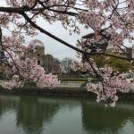 Sakura mit A-Bomb Dome